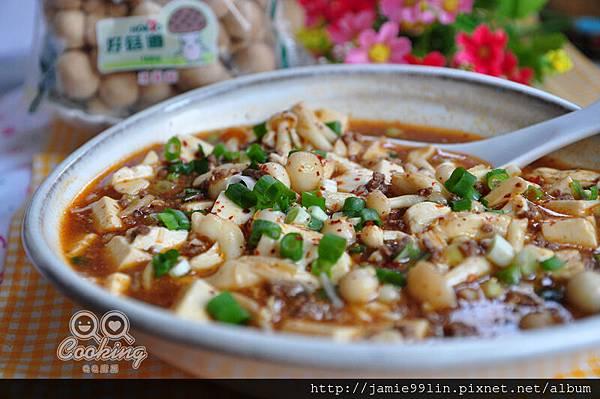 麻婆菇香豆腐