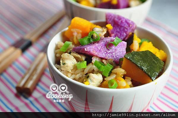 鮮蔬蜆精炊飯