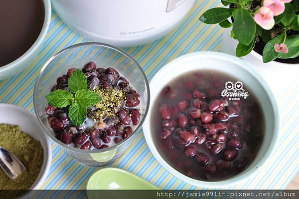 抹茶煉乳紅豆