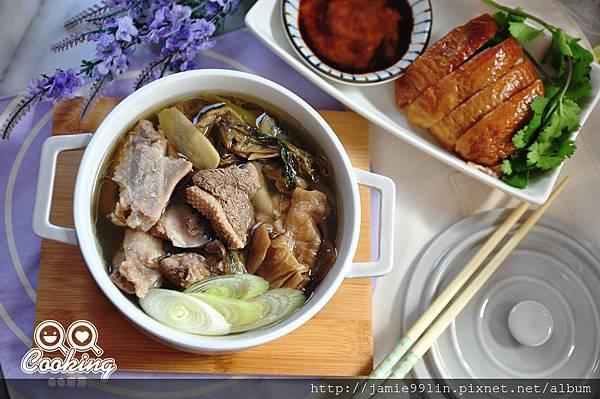 福菜燉鴨肉湯