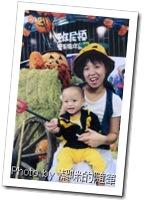 2011年10月潔咪與希望在婦幼展的合照