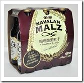 噶瑪蘭黑麥汁玻璃瓶六入裝