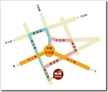 儷閣別墅旅館地圖