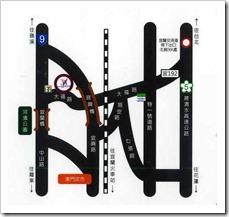 杜拜時尚戀館之交通路線圖