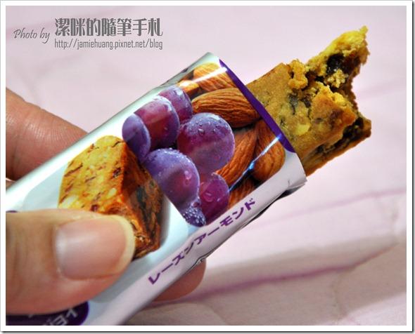 大豆水果營養棒葡萄杏仁口味