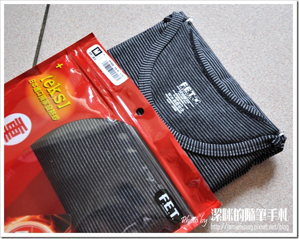 FET 重發熱衣之產品及包裝