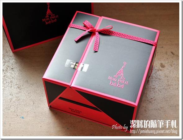 金革法式馬卡龍彌月禮盒之外包裝盒