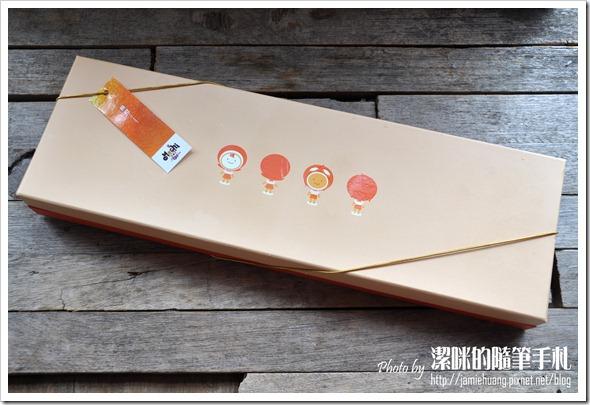 台灣麻糬主題館柳橙優荳之外盒包裝