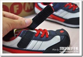 IFME機能童鞋之鞋子黏扣處
