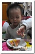 G98卵磷脂之小宇試吃吐司料理