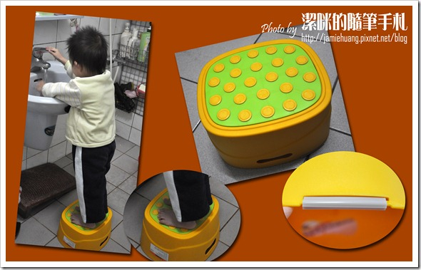 Creative Baby 多功能三合一學習馬桶之洗手台前使用