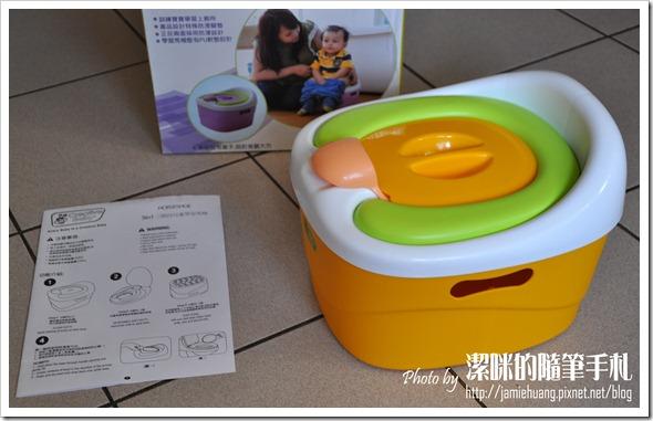 Creative Baby 多功能三合一學習馬桶之產品及說明書