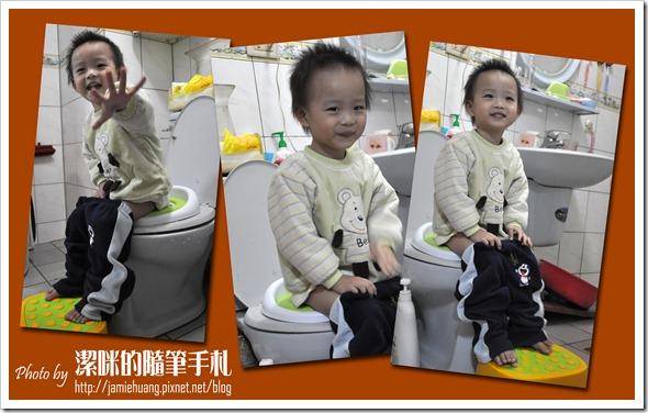 Creative Baby 多功能三合一學習馬桶之小宇馬桶上使用