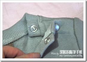 Minihope 童裝之衣服釘扣處