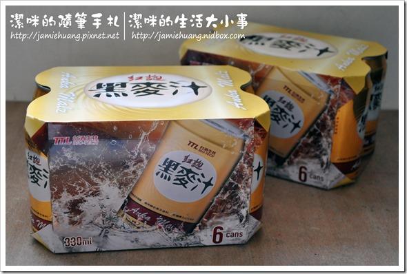 台酒生技紅麴黑麥汁之罐裝包裝