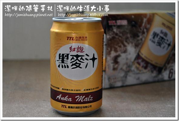 台酒生技紅麴黑麥汁之罐裝