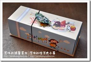 日月潭紅茶蛋糕之外盒包裝