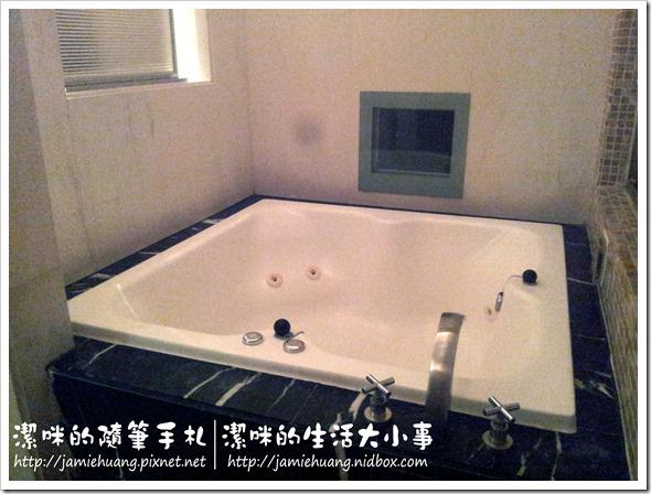竹林雅緻之車庫C房泡澡區