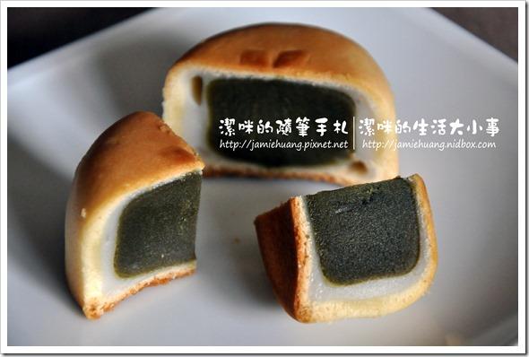 金格采吟月中秋禮盒之綠茶醍醐Q果