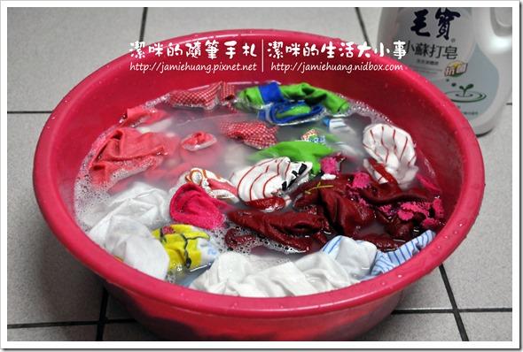 毛寶小蘇打液體皂之手洗狀況-2