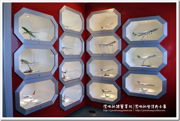 松山機場觀景台之展示模型