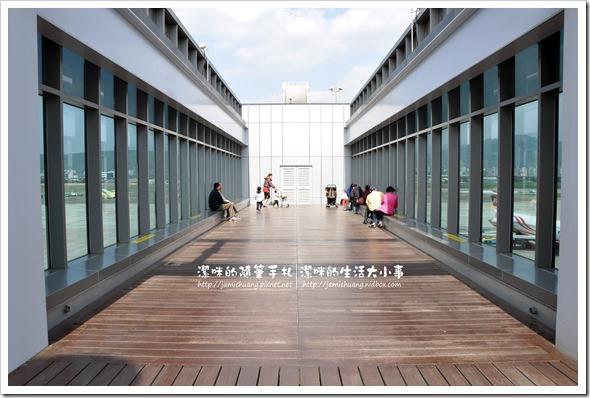 松山機場觀景台之觀景平台-4