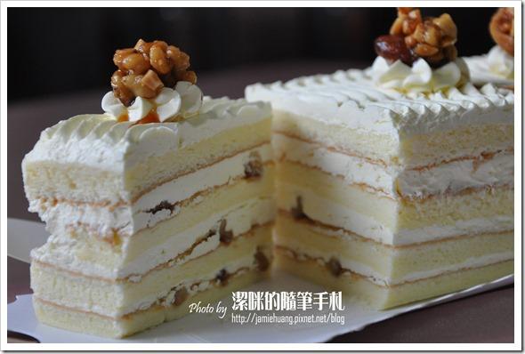 世唯幸福彌月蛋糕之香草核桃切片狀