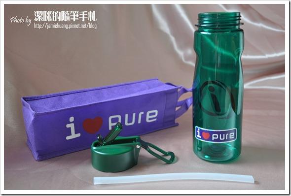 i-Pure能量運動水壺之成品分解