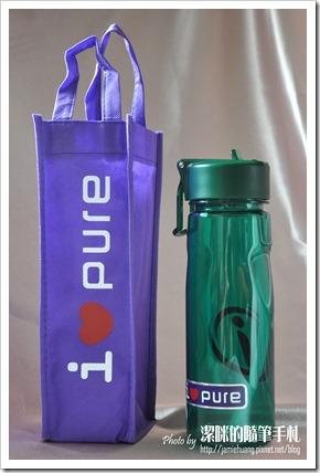 i-Pure能量運動水壺之成品