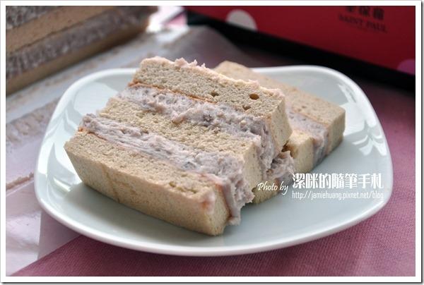 聖保羅之重芋泥蛋糕切片