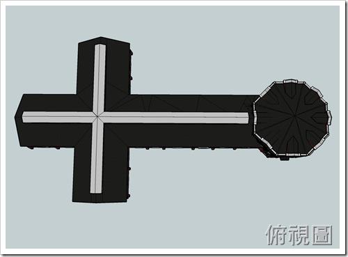 西門紅樓-俯視圖