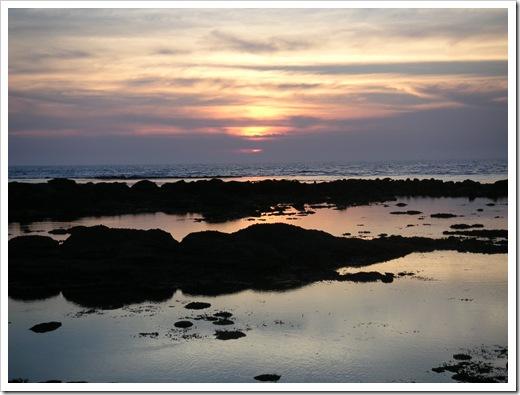 澎湖的夕陽
