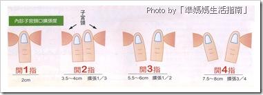 子宮頸開指程度