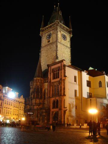 布拉格 舊市政廳鐘塔