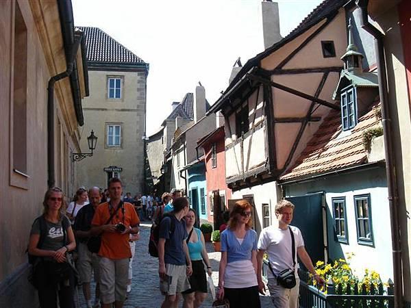 布拉格城堡區 黃金巷