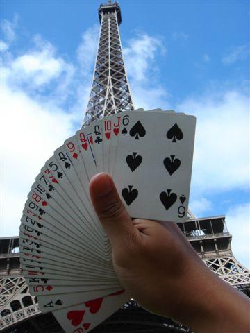 艾菲爾鐵塔的開扇