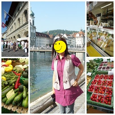 Fluss Markt
