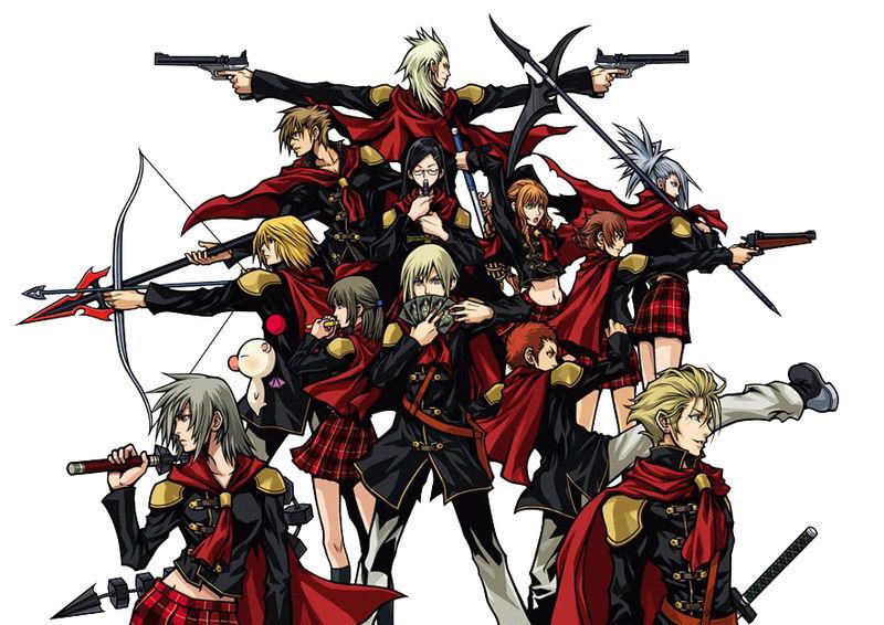 Final Fantasy零式Type-0魔導院第0班學生