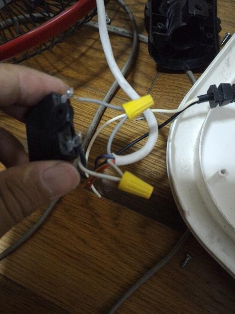 電扇二合一修理5