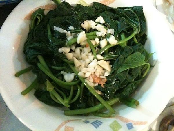 燙青菜-地瓜葉