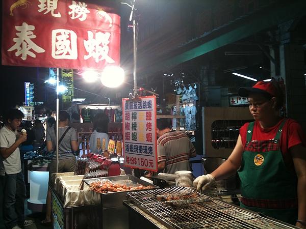 最愛的現烤泰國蝦