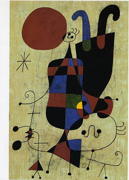 049-J-Miro-1949-Deux-figures-tete-beche-130x162-Kunsthaus-Bale-_縮小大小