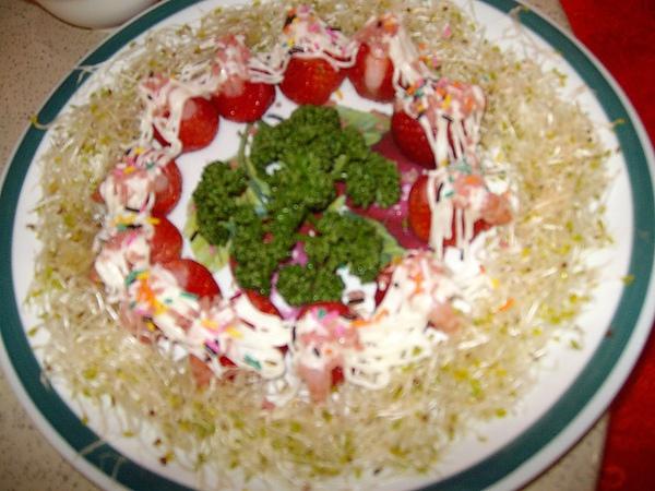這真的是草莓蝦唷~