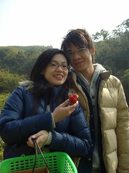 開心的JIane及開心的草莓