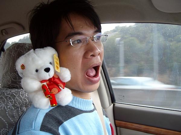 Ian:小白熊我們去找蔡康永~