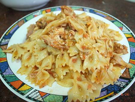 20120826難得下廚煮義大利麵16