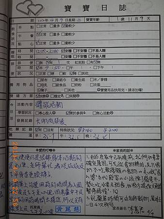 20130409阿愷聯絡簿