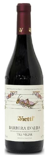 Vietti Barbera d'Alba Tre Vigne DOC 2011特維涅巴貝拉紅葡萄酒