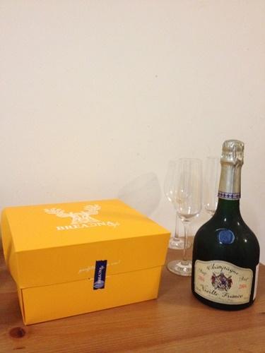 Charles de Cazanove 2004年老法香檳 X 起司蛋糕