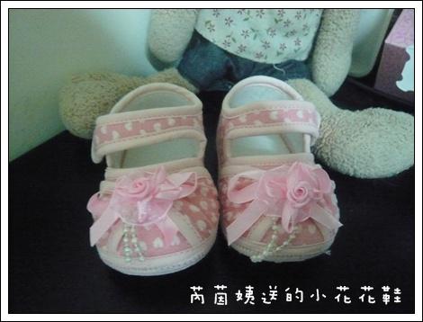 芮茵姨送的小花花鞋